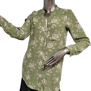 🍁3/$30 Forever 21 Spring Green Blouse Sz small
